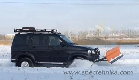 Электролопата для уборки снега lux